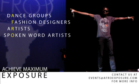 AfroExposure Talent Registrations